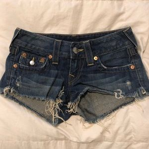 True Religion Shorts size 25